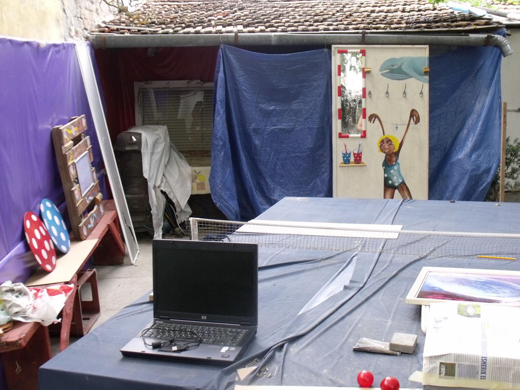 Művészfölde alkotótábor 2012 augusztus