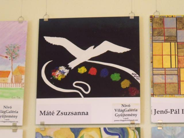 Nívó Világgaléria 2014 - Máté Zsuzsanna : A festő álma