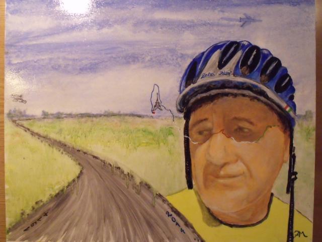 By Jegartmaster: Zelei József kerékpáros békenagykövet - BP.- Párizs 2014 túra