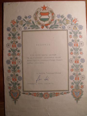 Jéga Szabó László Tamás pajtás 1969