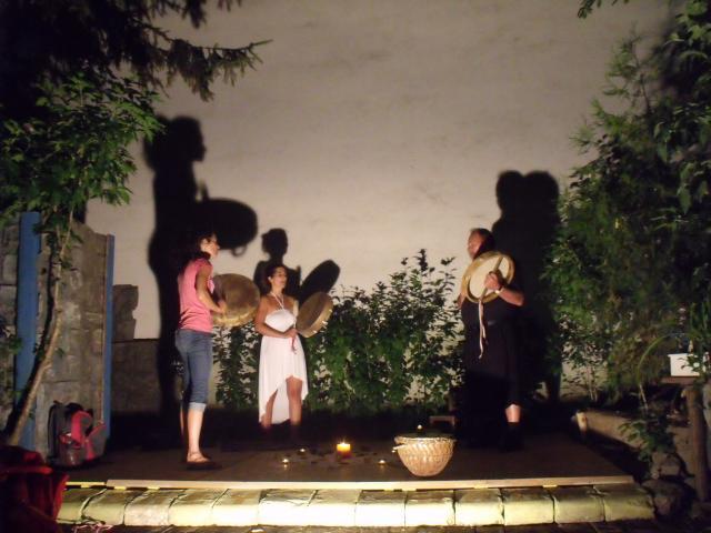 2015 - Bicskey Lukács Színpad - avatás, ősi magyar aura tisztítási ceremónia - Luke Bicskey Stage - Inauguration of the ancient